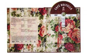 Cafe Bostella boek met dvd